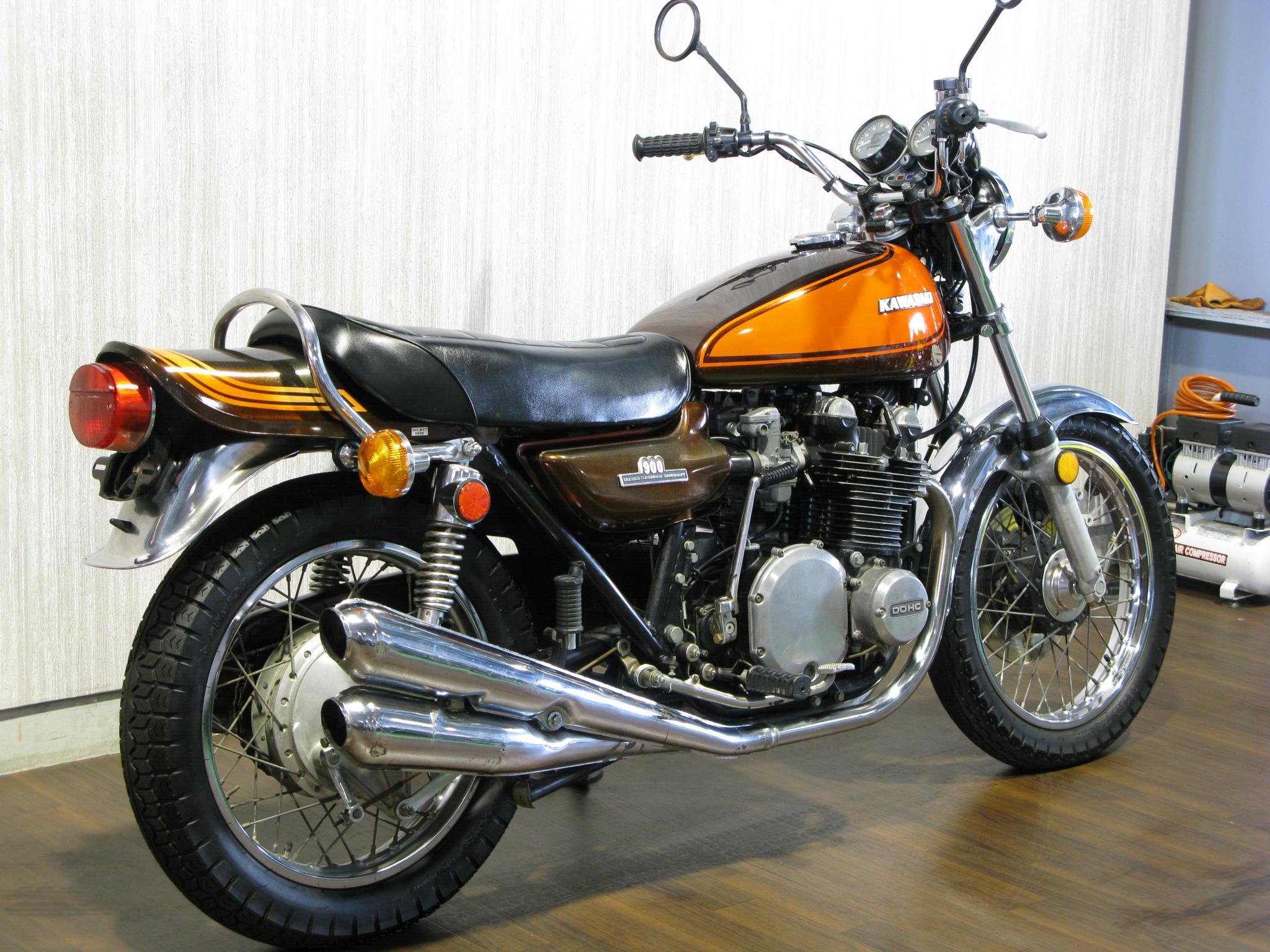 カワサキ 1973 Kawasaki Z1 車体写真3