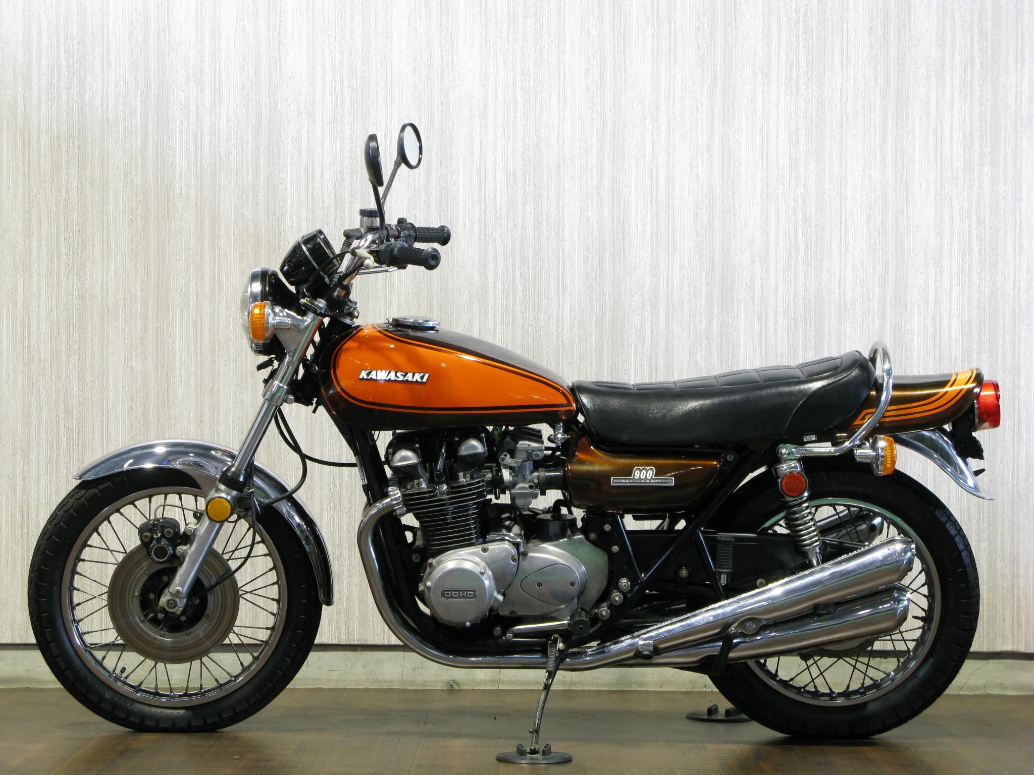 カワサキ 1973 Kawasaki Z1 車体写真4
