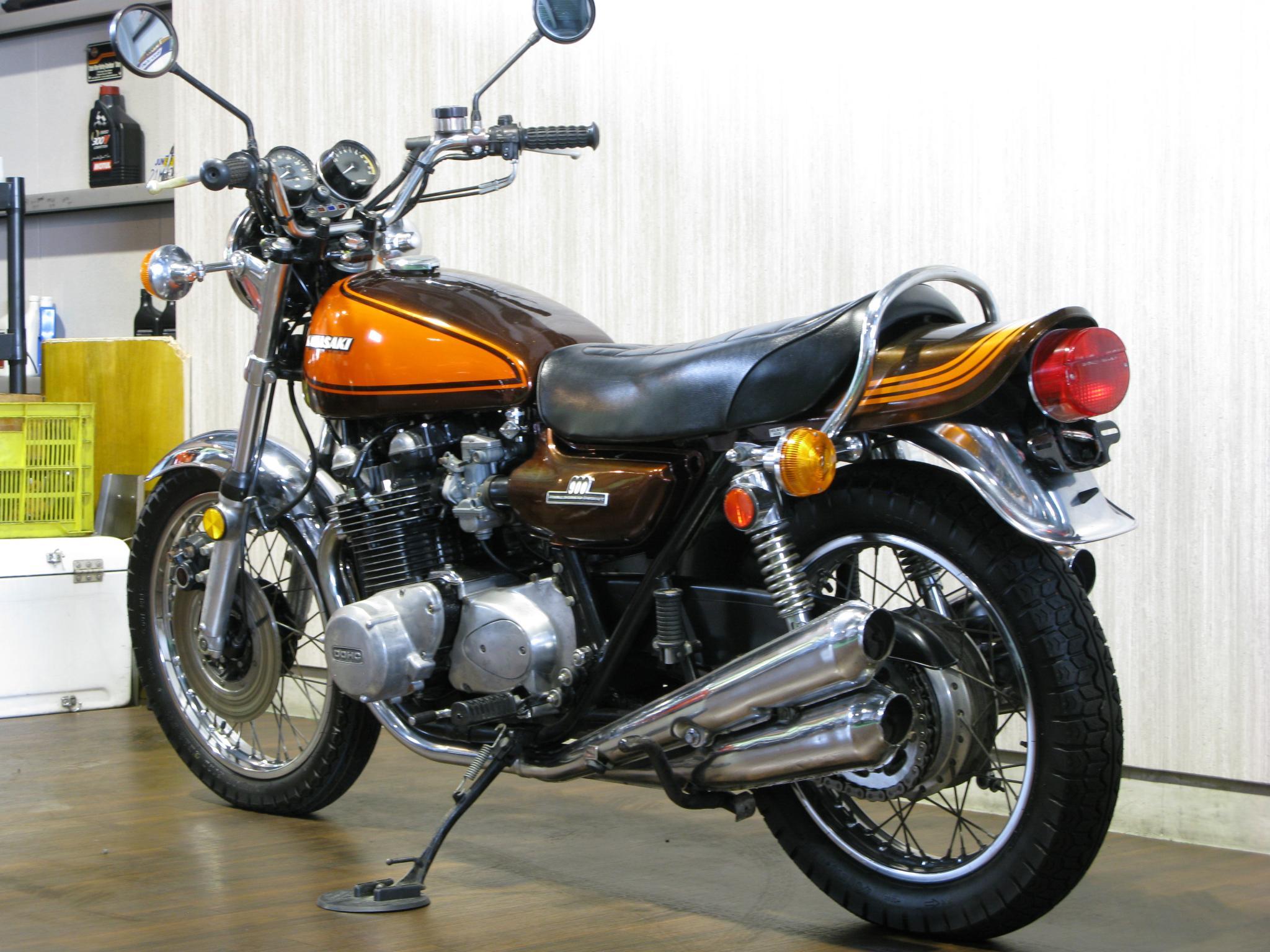 カワサキ 1973 Kawasaki Z1 車体写真6