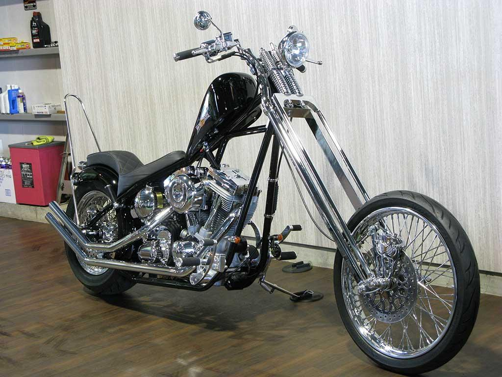 ハーレー MYP CSS Chopper Springer Spider 車体写真2